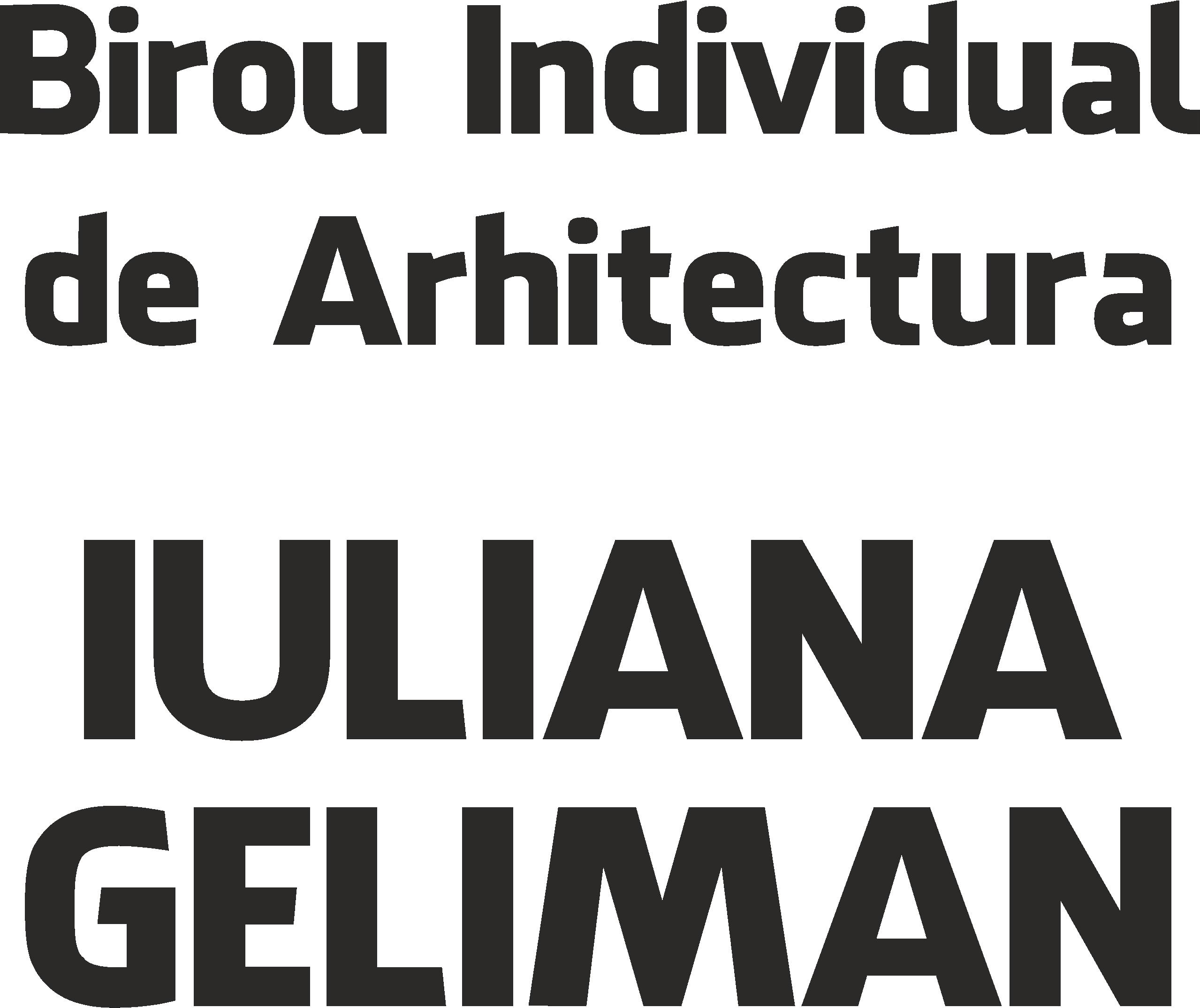 Arhitect Iuliana Geliman